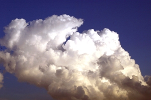 Cumulus Clouds (Photo by Paul Schuberth)